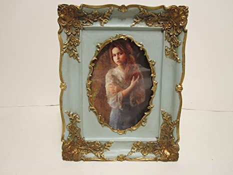 Amazoncom Vintage Looking Oval Victorian Style 4 X 6 Shabby