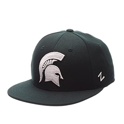 new product e2e34 a65f9 Buy ZHATS NCAA Michigan State Spartans Men s M15 Fitted Hat, Forest, Size 7  3 4 Online at Low Prices in India - Amazon.in