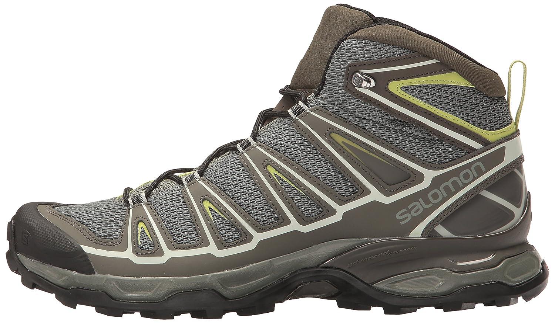 Salomon Men's X Ultra Prime Hiking Shoe, Castor GrayBeluga
