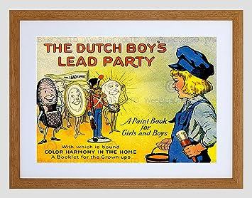 amazon ad book children dutch boy lead paint metal bizarre framed
