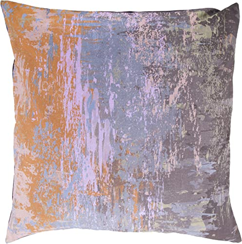 Surya Watercolor-Inspired Throw Pillow, Excalibur