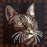 Mosaico Kit, 20x20 cm, gatto