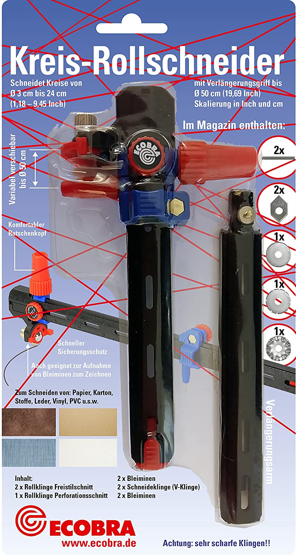 Taglierina a bobina rotativa - Ecobra 770660 - 3 to Ø 50 cm (19, 69 inch)
