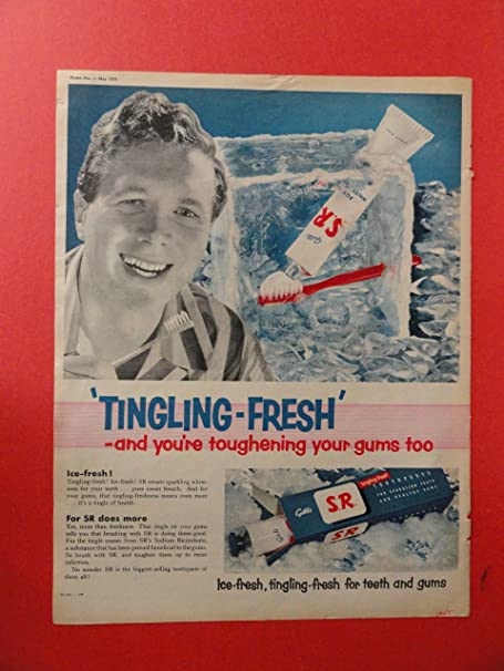 Image result for toothpaste UK 1955