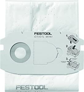 Festool 498411 Self Clean Filter Bag for CT MIDI