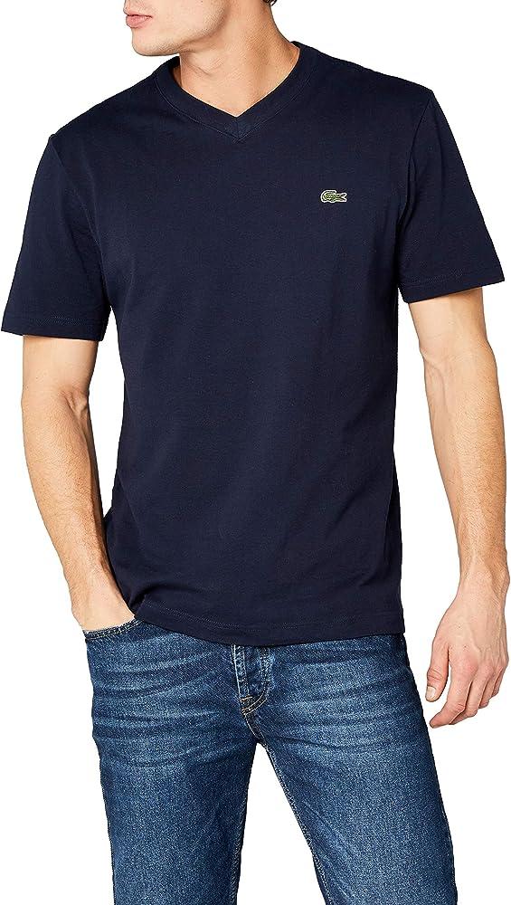 Lacoste Sport Th7419 Camiseta, Azul (Marine), X-Small (Talla del ...
