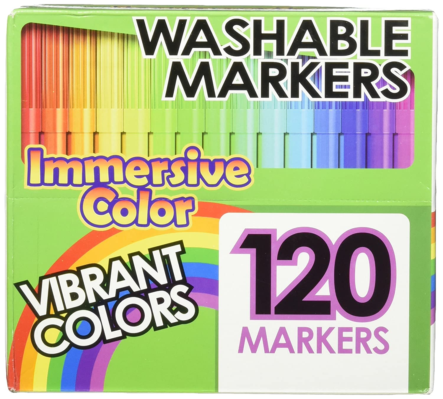 Amazon.com: Immersive Color Washable Water Soluble Ink Markers Set ...