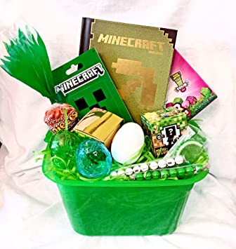 Amazon minecraft themed gift basket perfect for easter minecraft themed gift basket perfect for easter negle Image collections
