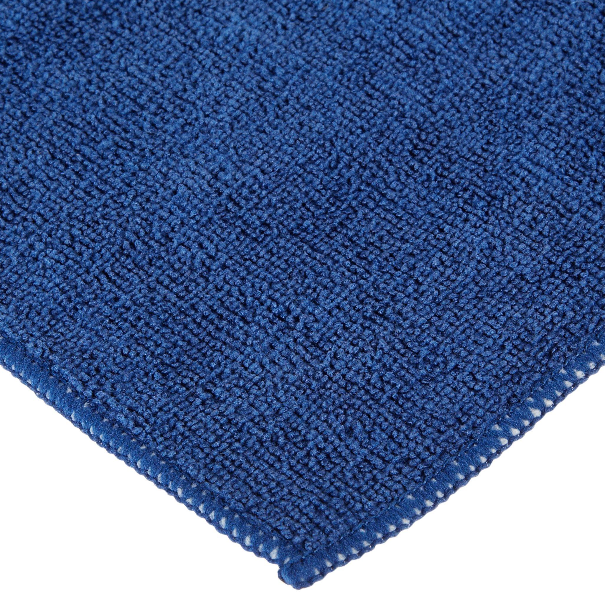 Wilen E871016, Supremo Microfiber Cloth, 16'' Length x 16'' Width, Navy Blue (Case of 180)