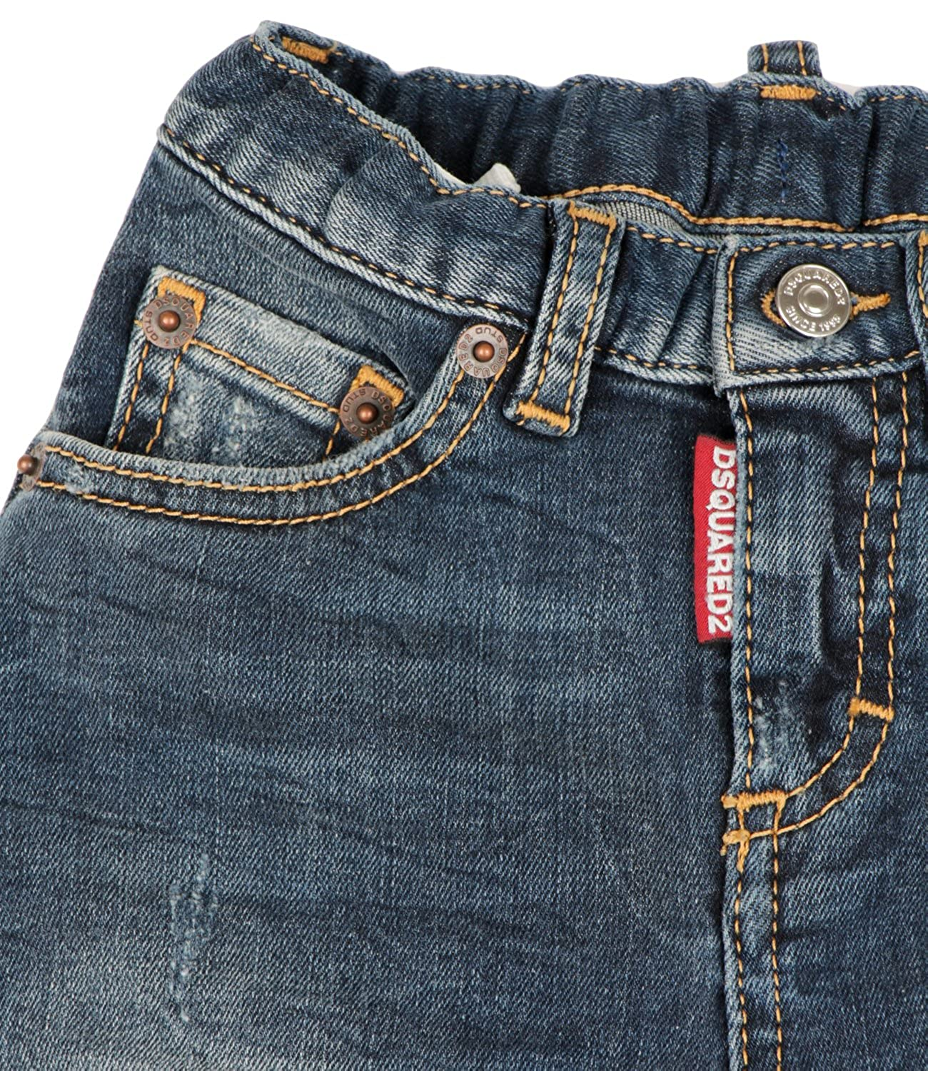 0d029d588 Dsquared2 Jeans Bambino Baby Boy Mod. DQ02SE: Amazon.co.uk: Clothing