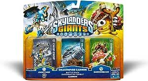 Skylanders Giants Battle Pack 1 - Dragonfire Cannon (Chop Chop (S2) / Cannon / Shroomboom)