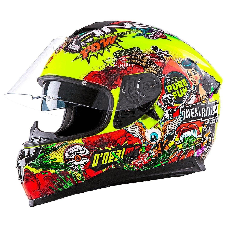 Oneal Challenger manovella casco moto - Hi-Viz - Large