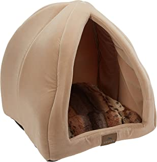 Stuft Purr Tent Moccasin Cat Bed  sc 1 st  Amazon.com & Amazon.com : Pet Tent - Soft Bed for Dog and Cat Best Pet ...