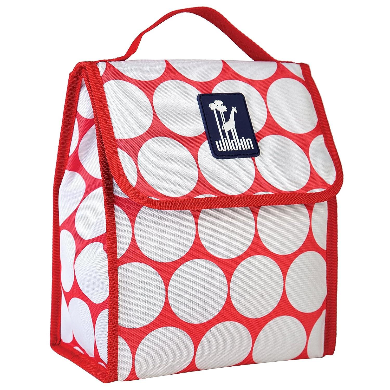 Wildkin Rip-Stop Munch N Lunch Bag, Black 55523