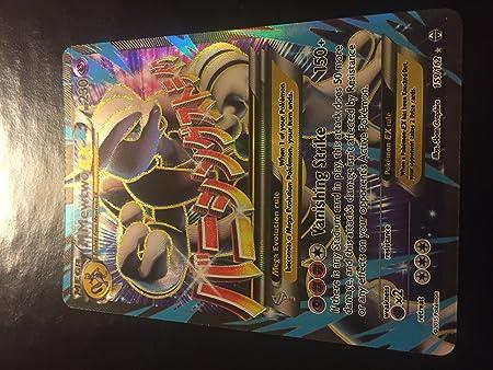 Pokemon mapa-Mewtwo ex 62//162 Holo nmmewtu ex en