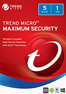 Amazon Com Trend Micro Maximum Security 2018 Download