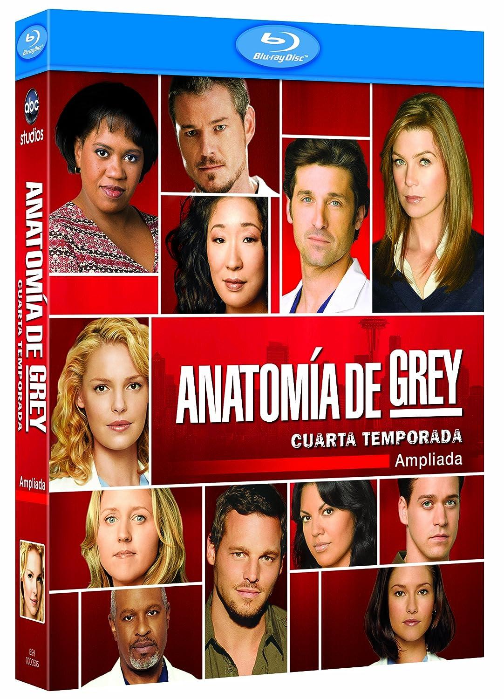 Anatomia de Grey - Temporada 4 Blu-ray Spanien Import: Amazon.de ...