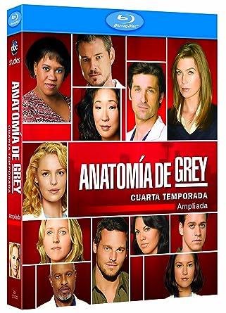 Anatomía de Grey (4ª temporada) [Blu-ray]: Amazon.es: Varios: Cine y ...