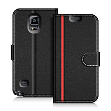 COODIO Funda Samsung Galaxy Note 4 con Tapa, Funda Movil Samsung Note 4, Funda Libro Galaxy Note 4 Carcasa Magnético Funda para Samsung Galaxy Note 4, ...