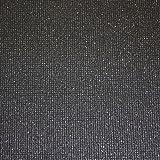 Black Glitter Dulce Paillette Silver Sparkle Wallpaper BOA-017-08-7