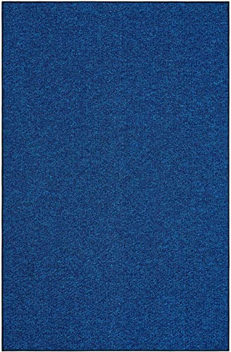 Outdoor Artificial Turf Blue Lagoon Area Rugs with Premium Non Skid Backing Great for Decks, Patio s Gazebo s to Pools, Docks Boats and Other Outdoor Recreational Purposes 8 x10