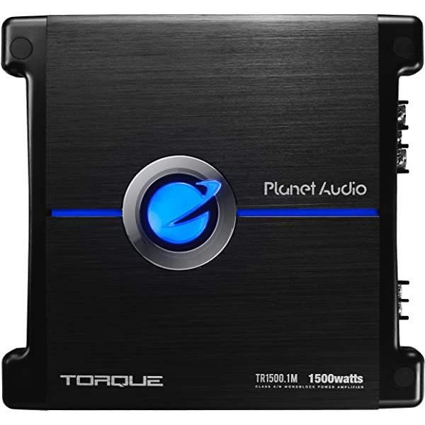 Monoblock Planet Audio MB1200.1D Class D Car Amplifier 1200 Watts Digital Mosfet Power Supply 1 Ohm Stable Great for Subwoofers