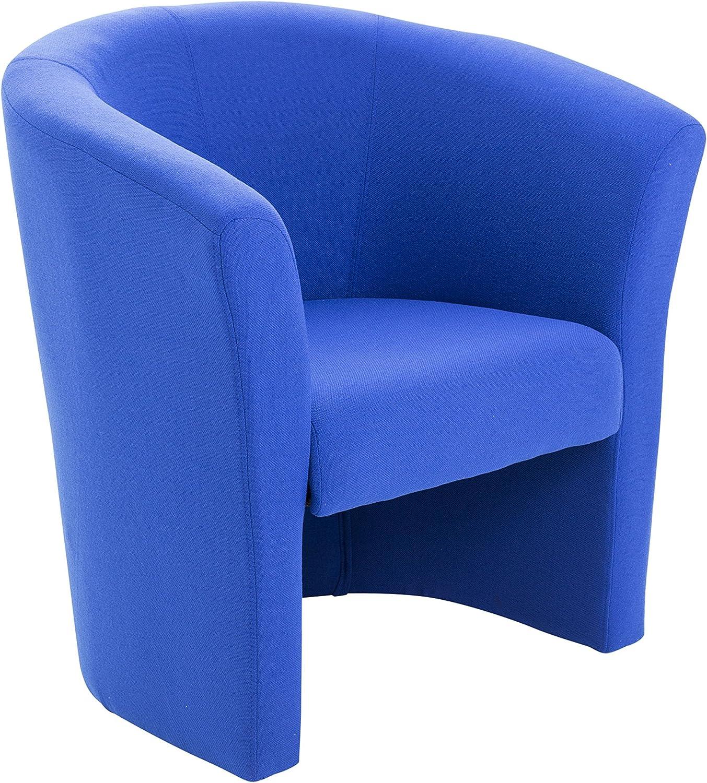 Office Hippo Tub Reception Armchair - Royal Blue