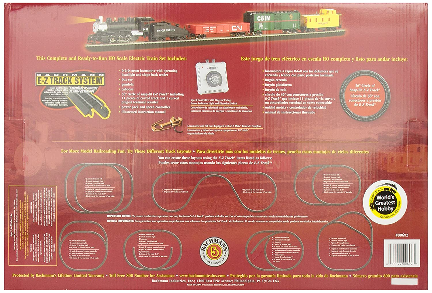 Bachmann Trains Pacific Flyer Ready To Run Ho Scale Model Train Wiring Diagrams On Dc Railroad Set Toys Games