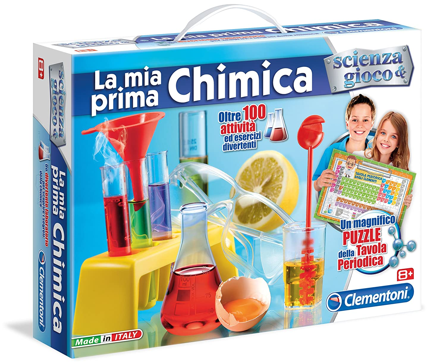 Connu Clementoni 12800 - La Mia Prima Chimica: Amazon.it: Giochi e  IS02