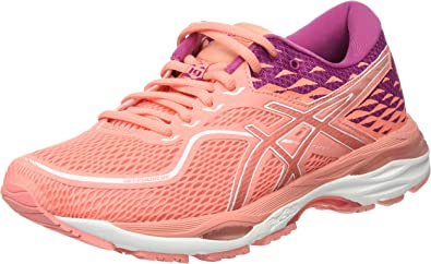 Asics Gel-Cumulus 19 [T7B8N-0606] Women Running Shoes Begonia Pink/Baton  Rouge / 25.5 cm