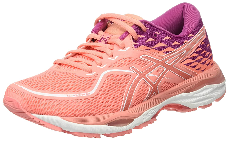 Pink Baton red 0606 ASICS Women's Gel-Cumulus 19 D Width Running shoes T7B8N