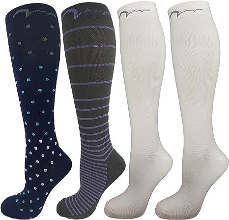 Girls Ladies Nurse Over Knee Socks Size 4-7