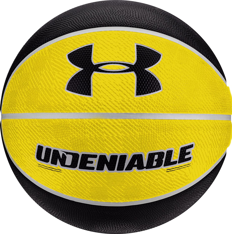 Under Armour Undeniable Mini Baloncesto, Amarillo/Negro, Mini ...