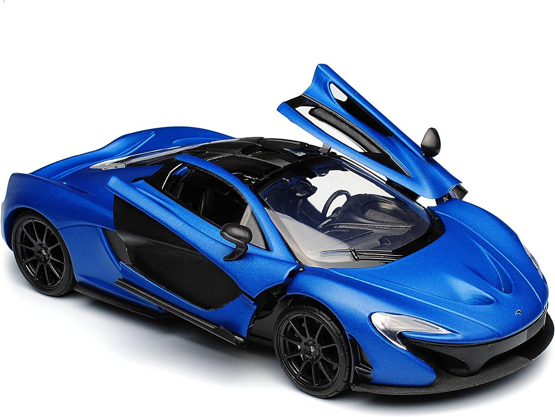 McLaren P1 Coupe Matt Blau Ab 2013 1//24 Motormax Modell Auto mit oder ohne indiv