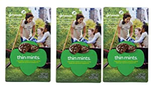 Girl Scout Thin Mints Cookies (3 Boxes)