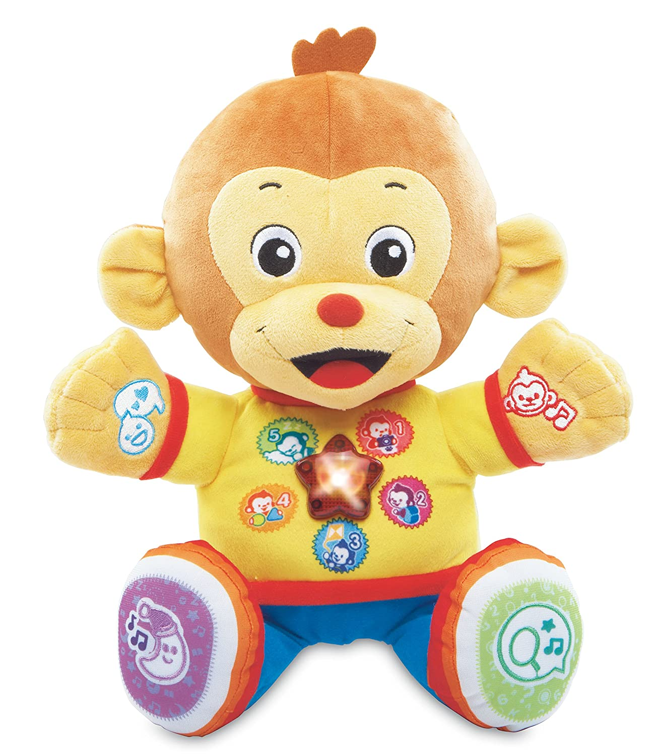 VTech Chat and Learn Reading Monkey Teddy Bears Amazon Canada