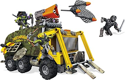 Amazon.com: Mega Bloks Teenage Mutant Juguete para construir ...