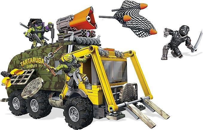 Amazon.com: Mega Bloks Teenage Mutant Juguete para construir ...