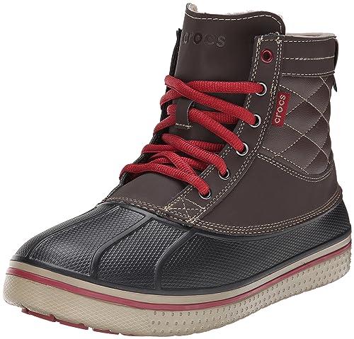 Crocs Allcast Waterproof Duck Boot M, Scarpe sportive da Uomo, colore  marrone (espresso