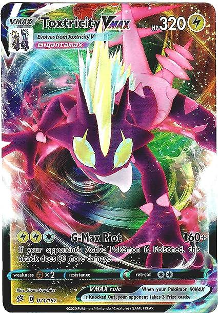 Ultra Rare Malamar Vmax 122//192 Pokemon Sword and Shield Rebel Clash