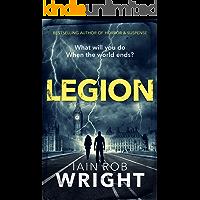 Legion: An Apocalyptic Horror Novel (Hell on Earth Book 2) book cover