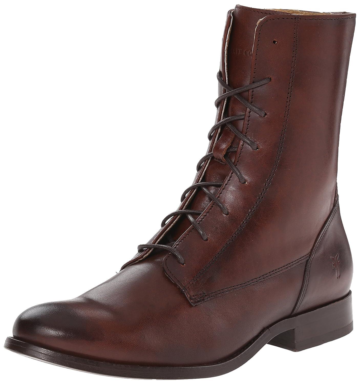 FRYE Women's Melissa Lace-up Boot B00R554JBO 6 B(M) US|Redwood-76081