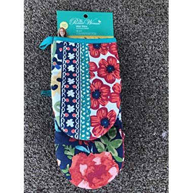 The Pioneer Woman Dazzling Dahlias Mini Mitt Set of Two, 5.5in x 8in