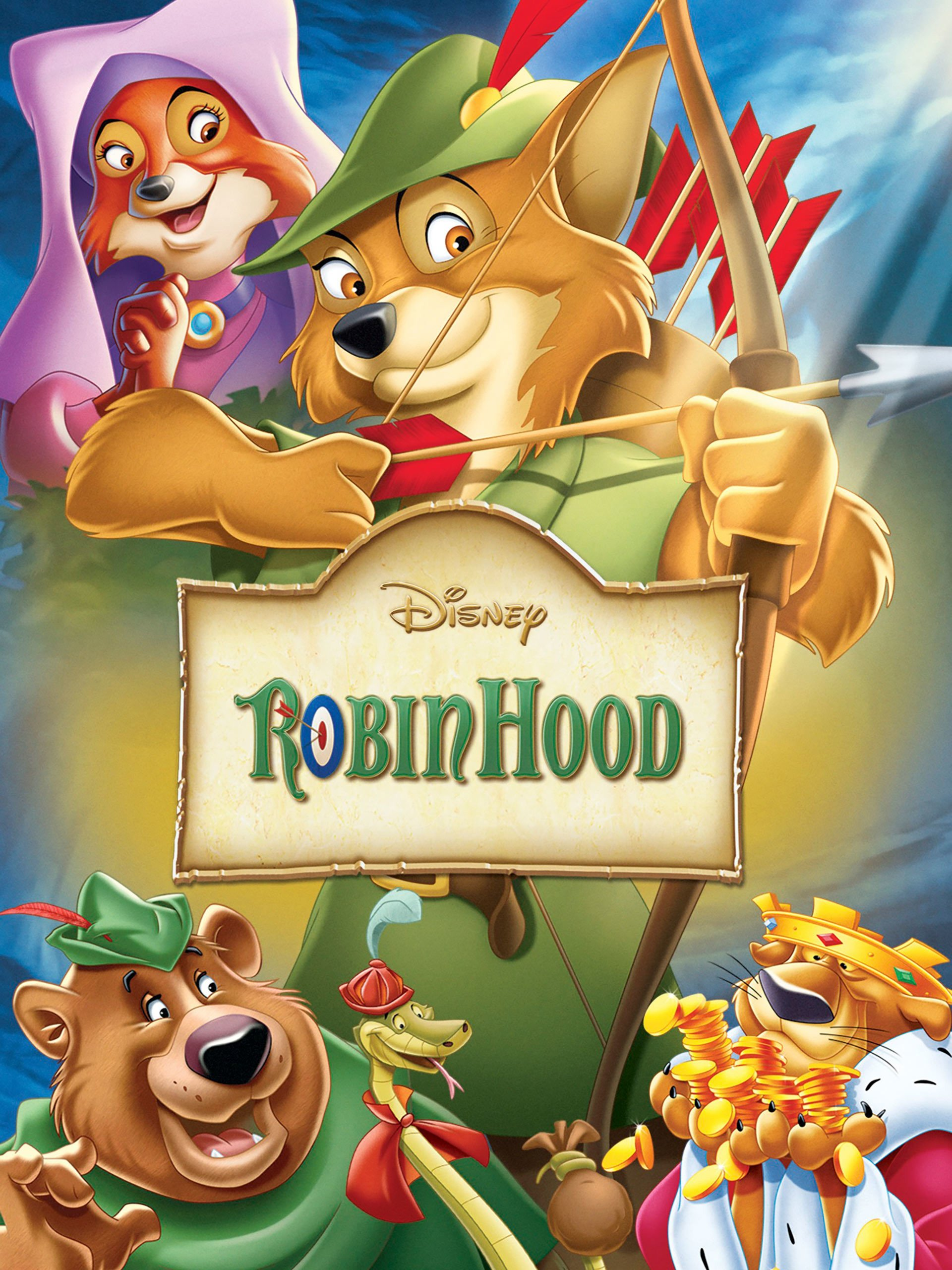 Disney Are Buddies Porn - Amazon.com: Robin Hood: Roger Miller, Phil Harris, Brian ...