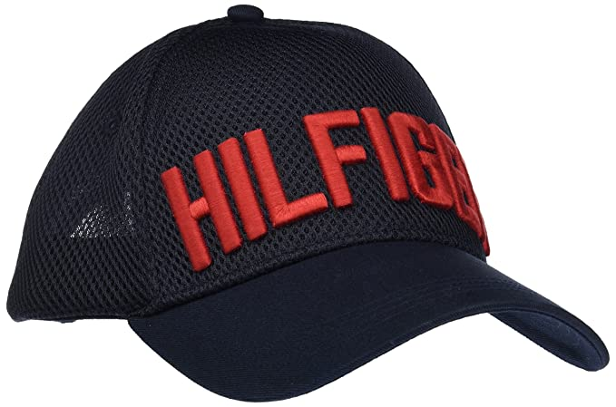 9a9c77a6 Tommy Hilfiger Men's Hilfiger Trucker Cap Baseball, Blue (Tommy Navy ...