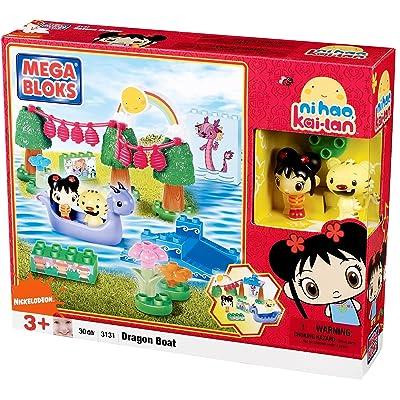 Mega Bloks Dragon Boat: Toys & Games
