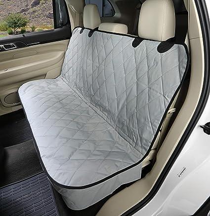 Large, Grey 4Knines Non-Slip Cargo Cover Lifetime Warranty
