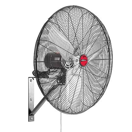 Amazon Com Oem Tools 24 Oscillating Wall Mount Fan 24 Inch Black