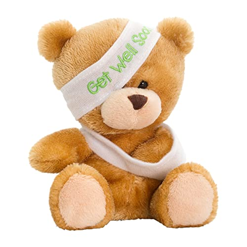 Keel Toys SB0306 Peluche Pipp Get Well Soon Bear 14cm