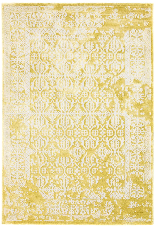 CarpetFine  Vintage Select Teppich 160x230 cm Gelb - Vintage